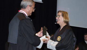 Entrega del Premio Berní i Català a Teresa Gisbert, la primera mujer elegida Fiscal Jefe de la Audiencia de Valencia