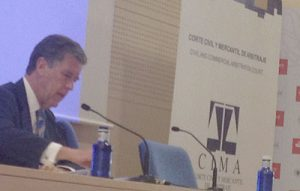 Juan Serrada, Presidente de CIMA