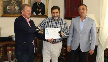 José María Ortega, Esteban Torres, autor y Vicente Barroso