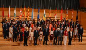 Los integrantes de la 66ª promoción de jueces