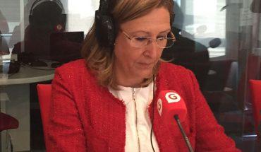 Sonia Gumpert, decana del ICAM,  en los estudios de Gestiona Radio