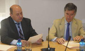 Salvador Vives, director de Tirant lo Blanch y Juan Serrada, presidente de CIMA