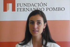Carmen Pombo, directora de la Fundación Fernando Pombo