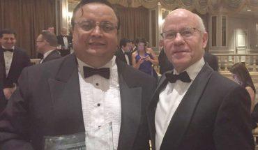 Camilo Zarama, responsable de la práctica tributaria en Colombia y Ramon Trenor, socio de Garrigues en Nueva York