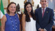 El decano del Colegio de Abogados de Málaga, Francisco Javier Lara, y la responsable legal de CODEPRO, Laura Domínguez