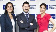Víctor Altimira, Irene López y Carmen Calderón