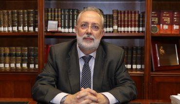 Vicente Pascual, decano del Ilustre Colegio de Abogados de Elche y Presidente del III Congreso de la Abogacía Valenciana