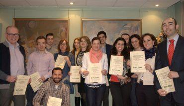 Alumnos del Curso de Urbanismo celebrado en Madrid