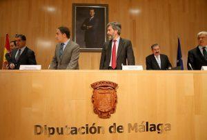 apertura de las jornadas en la Diputación de Málaga - foto Diputación de Málaga