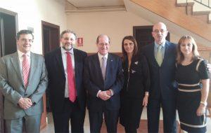 Juan Carlos Castro, Andrés Malamud, Vicente Sánchez, Cándida Fernández, Pedro Patiño-Mayer y Nieves Alvarez
