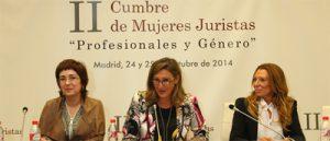 imagen de la inauguración de la II edición de la Cumbre de Mujeres Juristas