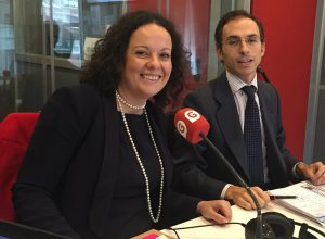 Rebeca Rodríguez, socia del Departamento Fiscal y Jaime de la Torre, socio del Departamento Financiero de Cuatrecasas Goncalves Pereira