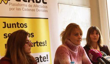 Paula Aller, socia de Negotia Abogados y afectada por Vitaldent; Mónica Ortega, afectada por Dentix; y Ángela de Miguel, socia directora de Negotia Abogados