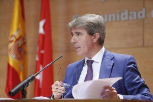 el consejero de Presidencia, Justicia y Portavocía del Gobierno regional, Ángel Garrido