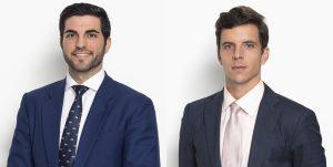 Joaquín Jiménez y Pablo Torán, socios de Ayuela Jiménez