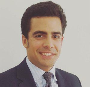 Juan Gonzalo Ospina, Presidente de la Agrupación de Jóvenes Abogados de Madrid