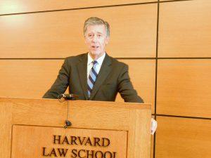 El presidente de CIMA, Juan Serrada, durante su intervención