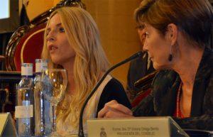 La presidenta del Observatorio contra la violencia doméstica y de género, Ángeles Carmona