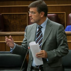 Rafael Catalá sesión de control Congreso diciembre 2016