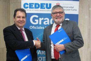 el Director de CEDEU, Alfonso Cebrián Díaz, y por el Presidente de UIPAN, Juan Carlos Martínez Ortega