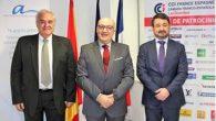 Antonio Cañadas y Domingo San Felipe, vicepresidente y presidente respectivamente de la Cámara Franco Española de Comercio, y Javier Iscar, Secretario General de la Asociación Europea de Arbitraje