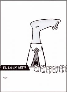 Ubaldo – El Legislador