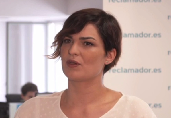 Iria Aguete, responsable del departamento de Banca de reclamador.es