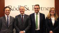 Juan V. Sorabilla, Joaquim Sarrate, Georg Abegg - director de Rödl&Partner España  e Isabel Pi