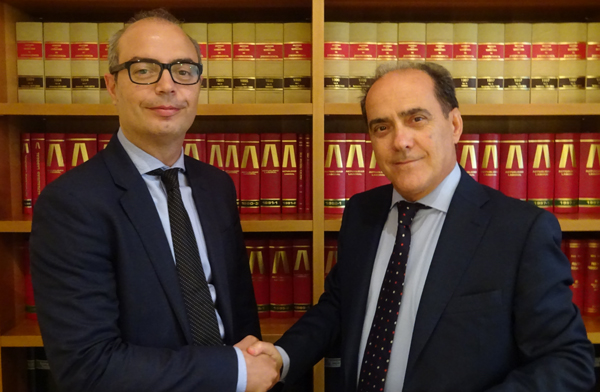 Jordi Rovira (AGM Abogados) y Antonio Jurado (IMO Asesores)