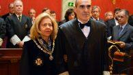 Alejando Luzón, amadrinado por la exfiscal general del Estado Consuelo Madrigal