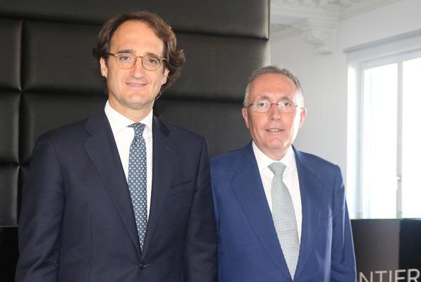 Pedro Rodero, socio director de ONTIER España y Adolfo Menéndez