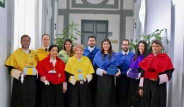 Los ganadores de los Premios de Investigación 2016 de la RADE que acudieron a recoger sus galardones