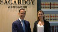 Iñigo Sagardoy, Presidente de Sagardoy Abogados, con María Luz Rodríguez
