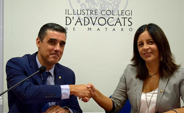 La diputaci n de barcelona y el ica matar firman un convenio de colaboraci n para ofrecer - Convenio oficinas y despachos barcelona 2017 ...