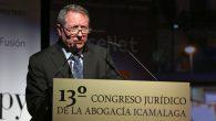 Juan Cano Bueso clausura el 13º Congreso Jurídico de la Abogacía ICAMÁLAGA