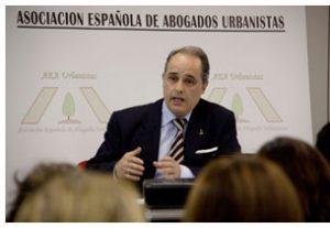 José María García Gutiérrez, presidente de la Asociación Española de Abogados Urbanistas