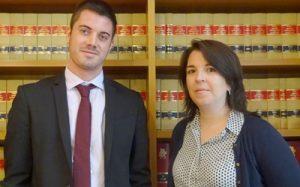 Mª Eugenia Blasco Rodellar, Directora Área Movilidad Internacional y Marc Fernández de la Peña, Abogado Área Movilidad Internacional AGM Abogados – Barcelona