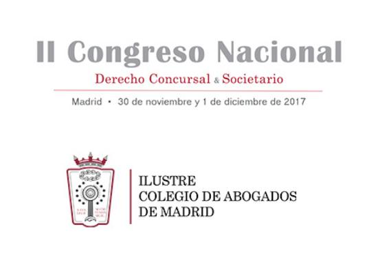 II Congreso Nacional de Derecho Concursal y Societario
