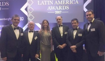 Garrigues Chambers 2017 Regional Client Service Award in Latin America