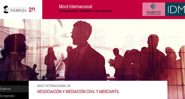 Moot Internacional en Negociación y Mediación Civil y Mercantil