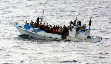 patera de refugiados