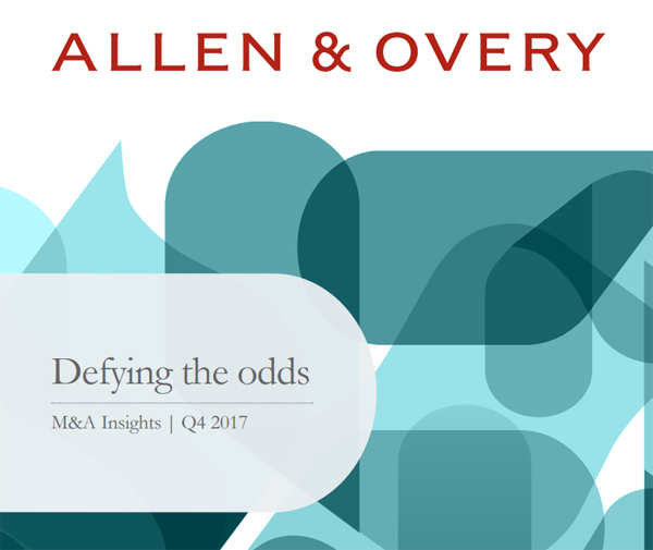 "Allen & Overy ""M&A Insights"""