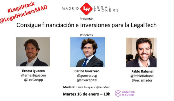 Legal Hackers Madrid LegalTech