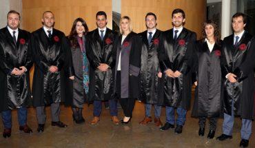 Junta Directiva de la Agrupación de Jóvenes Abogados de las Illes Balears