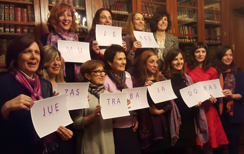 AMJE huelga feminista