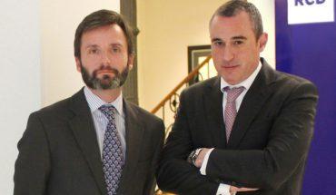 Federico Belausteguigoitia y José María Pastrana socios RCD