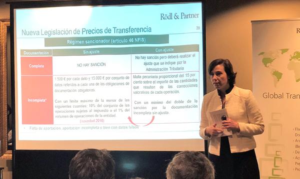 Mariana Robles, responsable del Departamento de Precios de Transferencia de Rödl & Partner