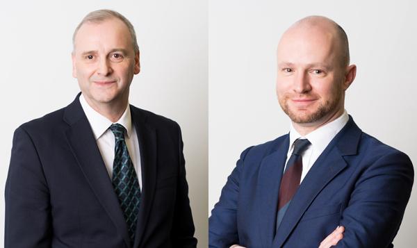 John Byrne y Neil Purslow, fundadores de Therium