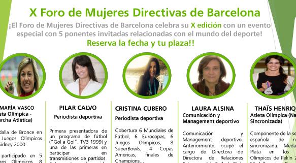 Foro de Mujeres Directivas de Barcelona