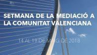 Semana de la Mediación Comunitat Valenciana